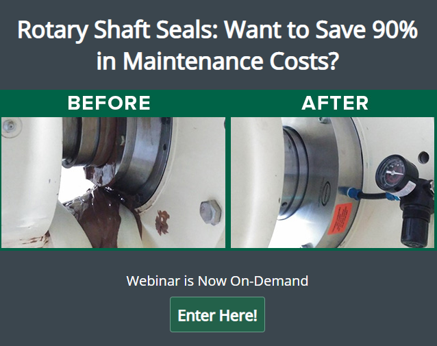 "Learn about a difference between traditional and modern, ¼"" (6.35mm) runout-tolerant shaft seal types, and how to reduce maintenance costs by 90% by creating hygienically clean environments and preventing shaft damage, and product recalls."